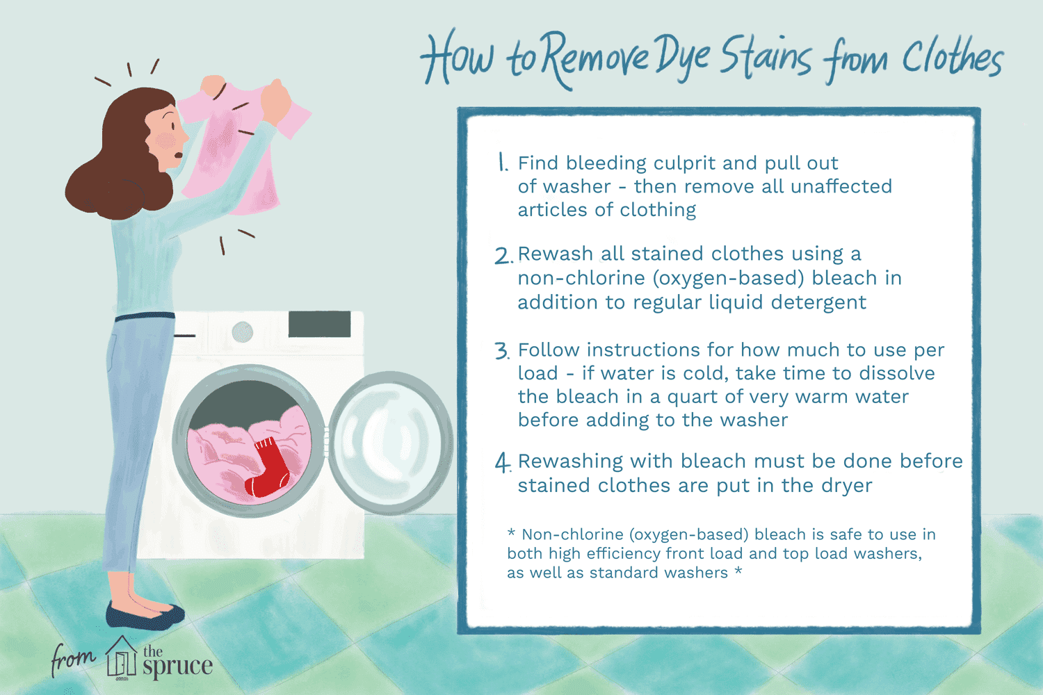 How To Remove Dye Stains From Clothes