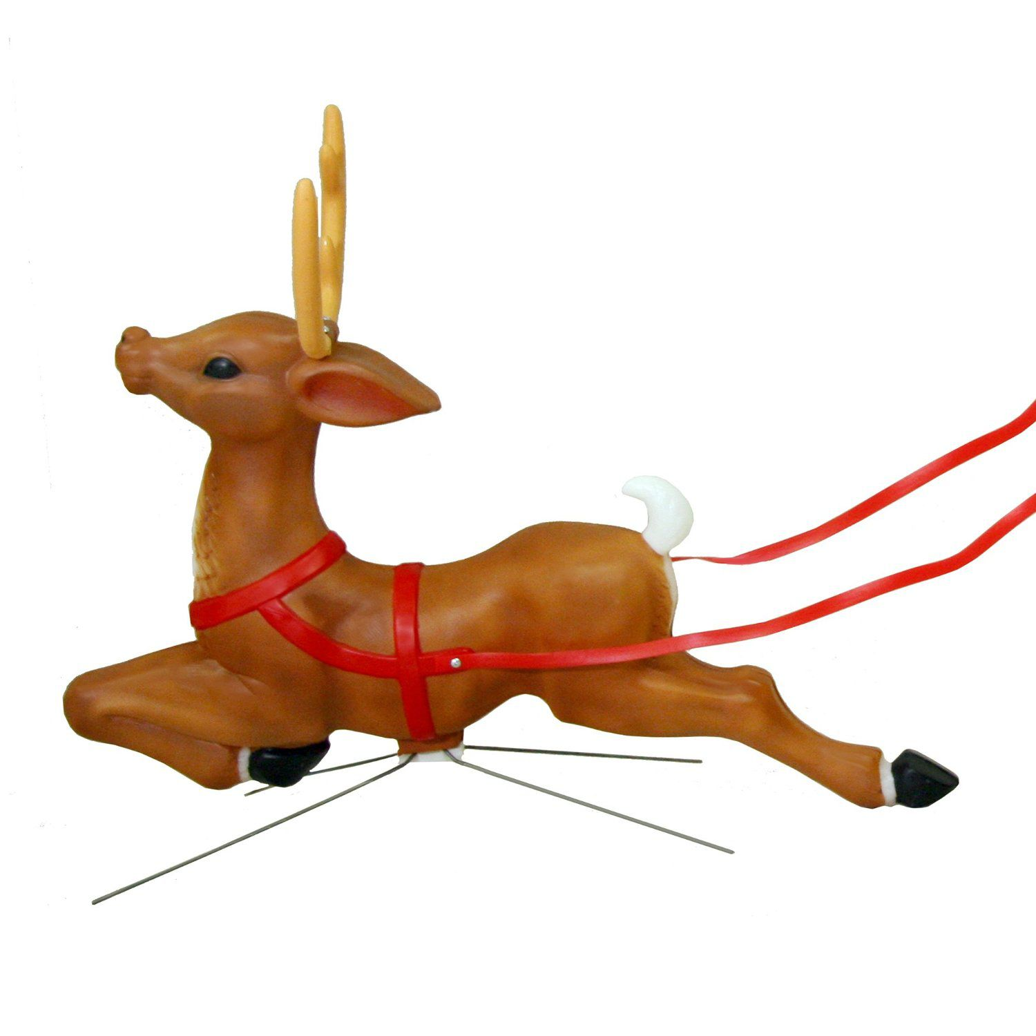 blow mold reindeer