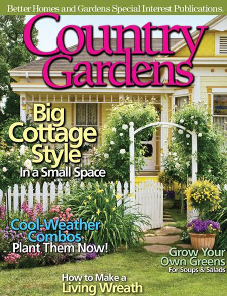 Country Gardens Magazine Amazon A Better Homes