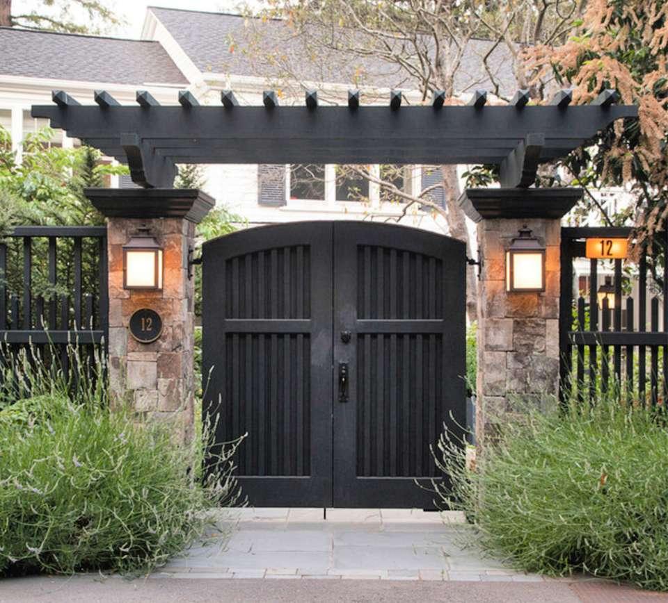 50 Gorgeous Outdoor Patio Design Ideas: Welcoming Garden Gate Designs