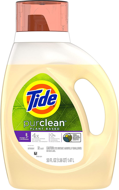 Tide Purclean Plant-based Laundry Detergent