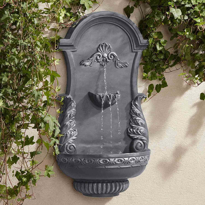 John Timberland Tivoli Outdoor Wall Water Fountain