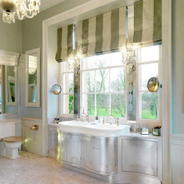 Gilded Silver Dream Bathroom