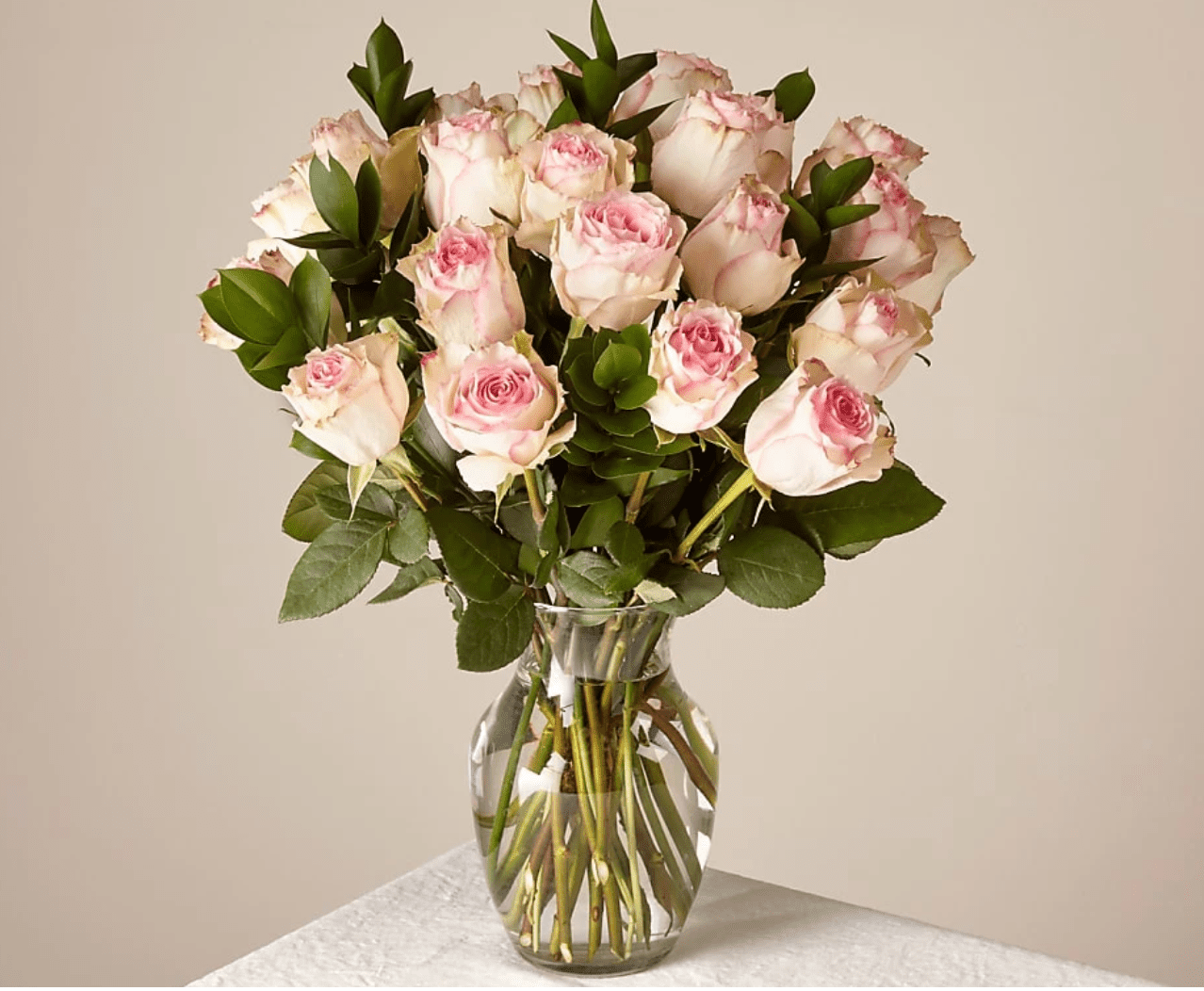 FTD Pink Champagne Rose Bouquet