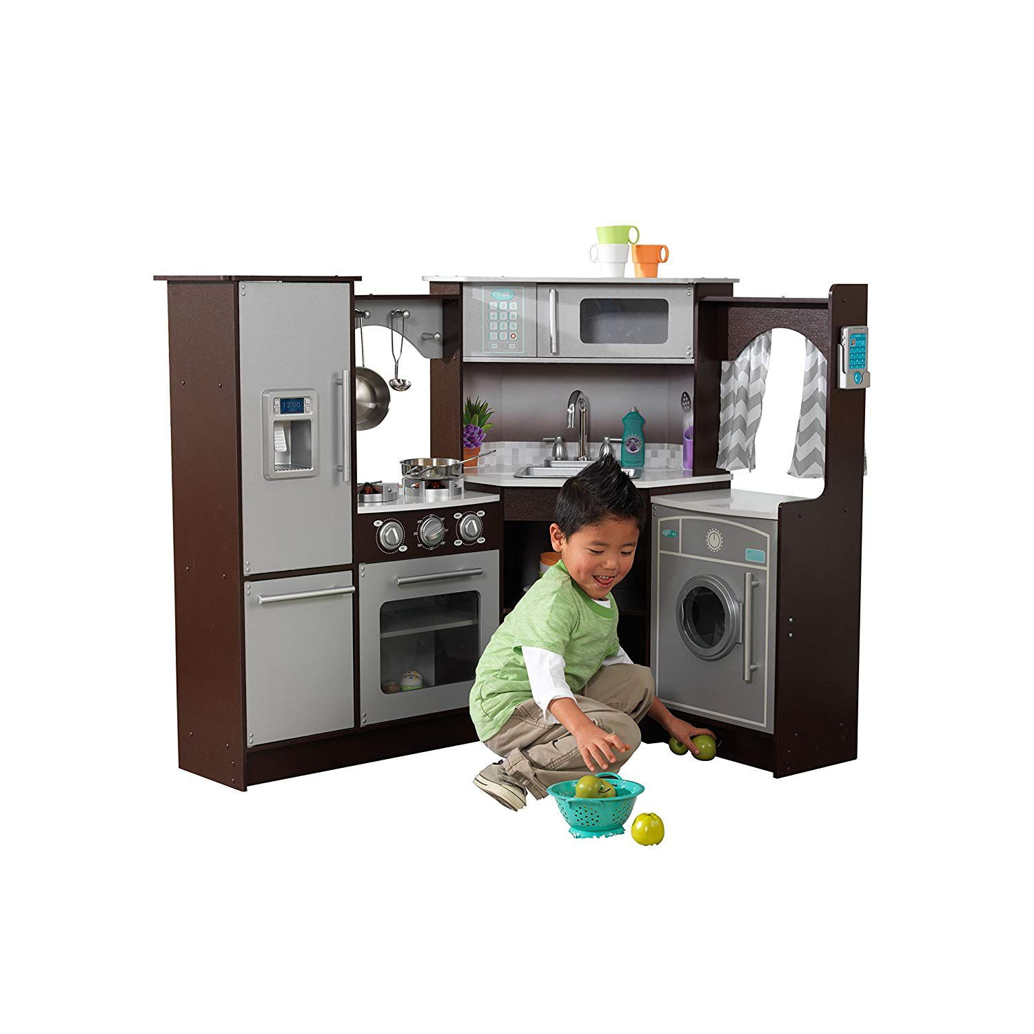 the 8 best kitchen sets for kids in 2019. Black Bedroom Furniture Sets. Home Design Ideas