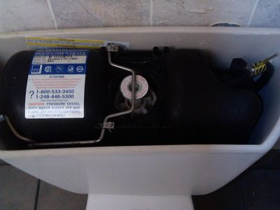 How A Pressure Assisted Toilet Works