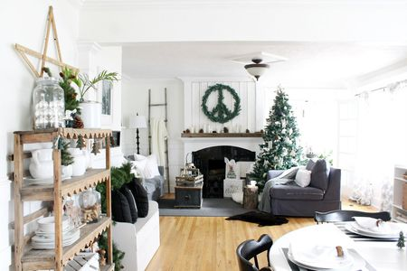 scandinavian christmas decor the wicker house - How To Decorate House For Christmas