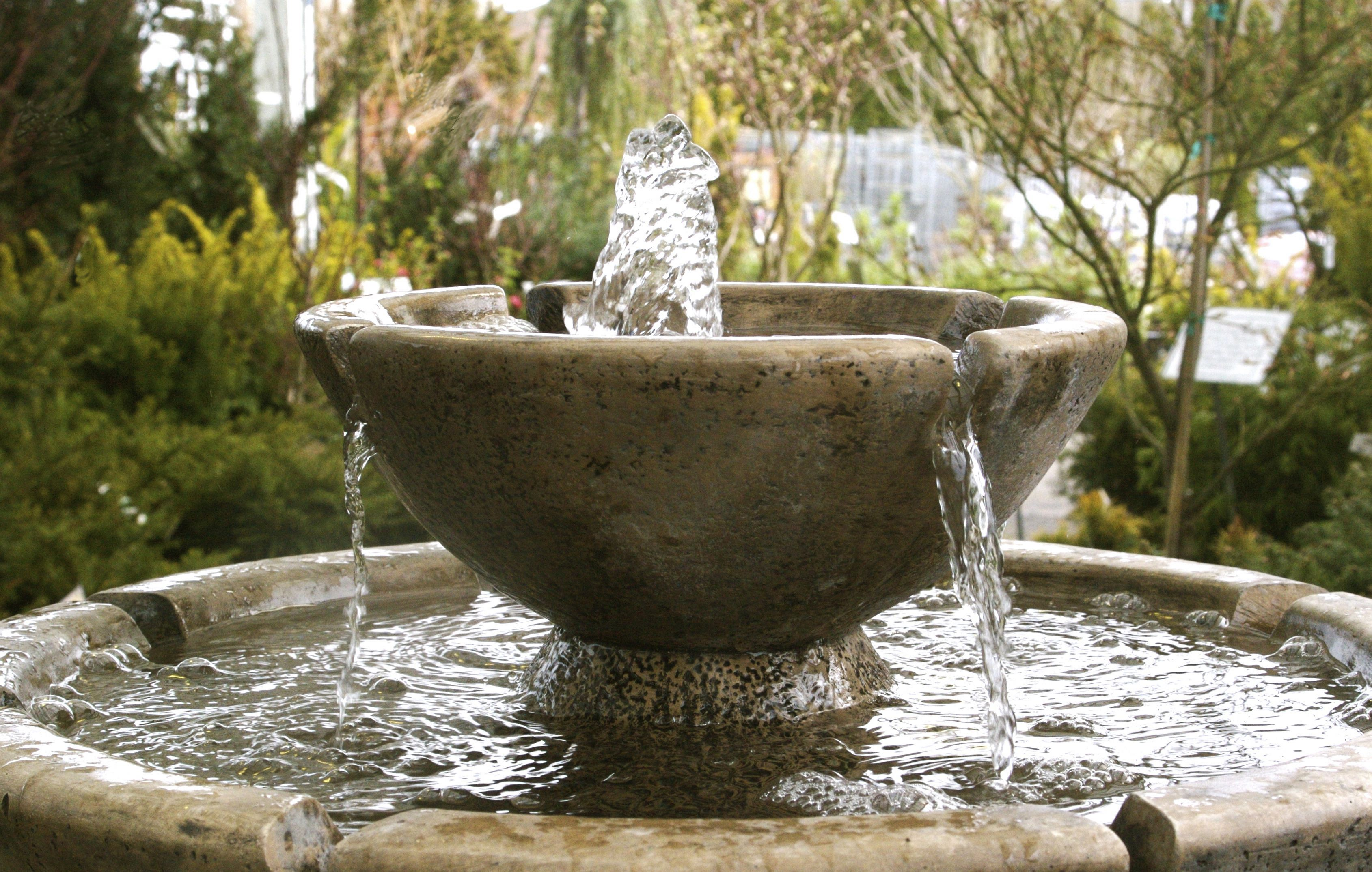 Ornamental Garden Fountain