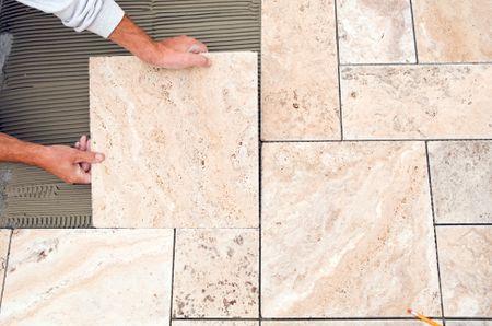 How To Set Outdoor Patio Tile, Tile Outdoor Patio