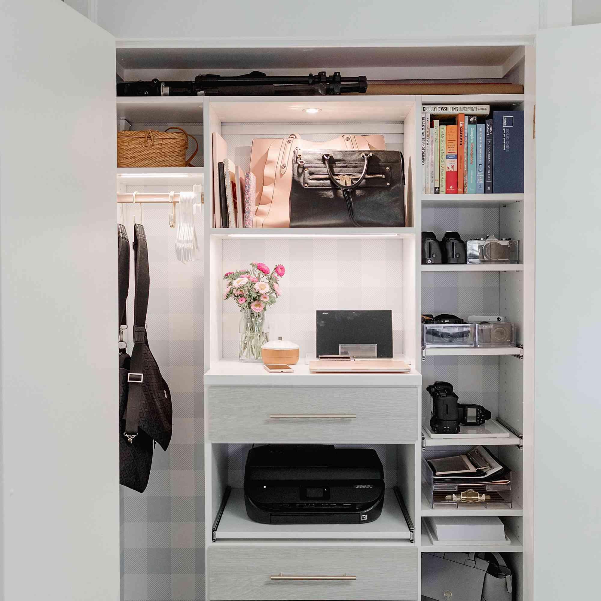 Diana Steffen closet office