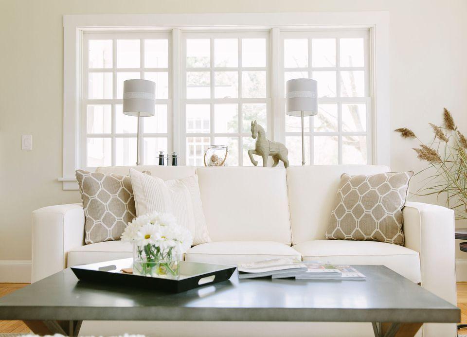 an elegant contemporary living room