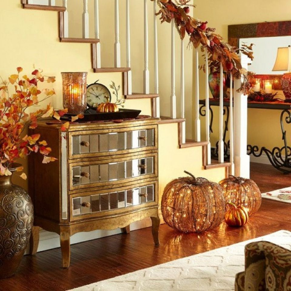 25 Ways To Decorate Your Home For Thanksgiving