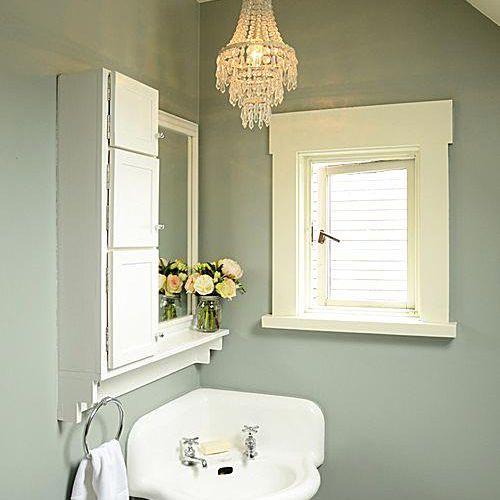 Tiny Bathroom Corner Sink