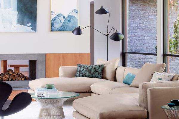 mid-century living room design within reach