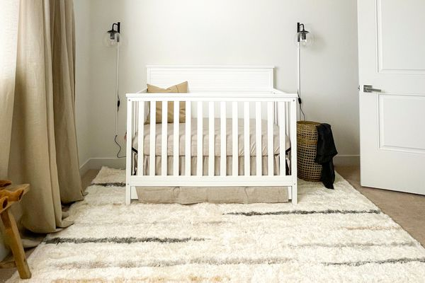 The Spruce Home Rug Collection in a nursery