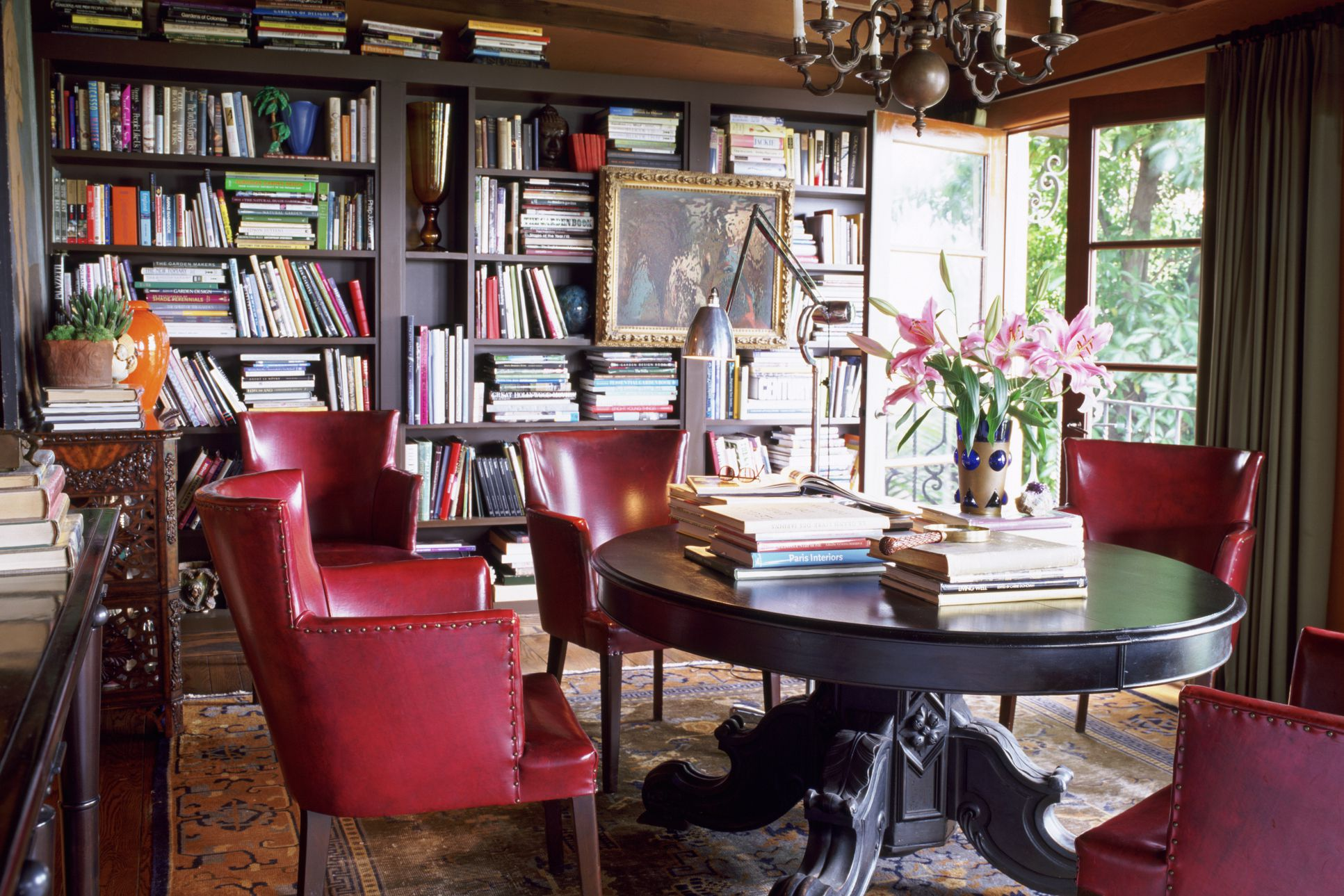 How to create a home library - Make a house a home ...