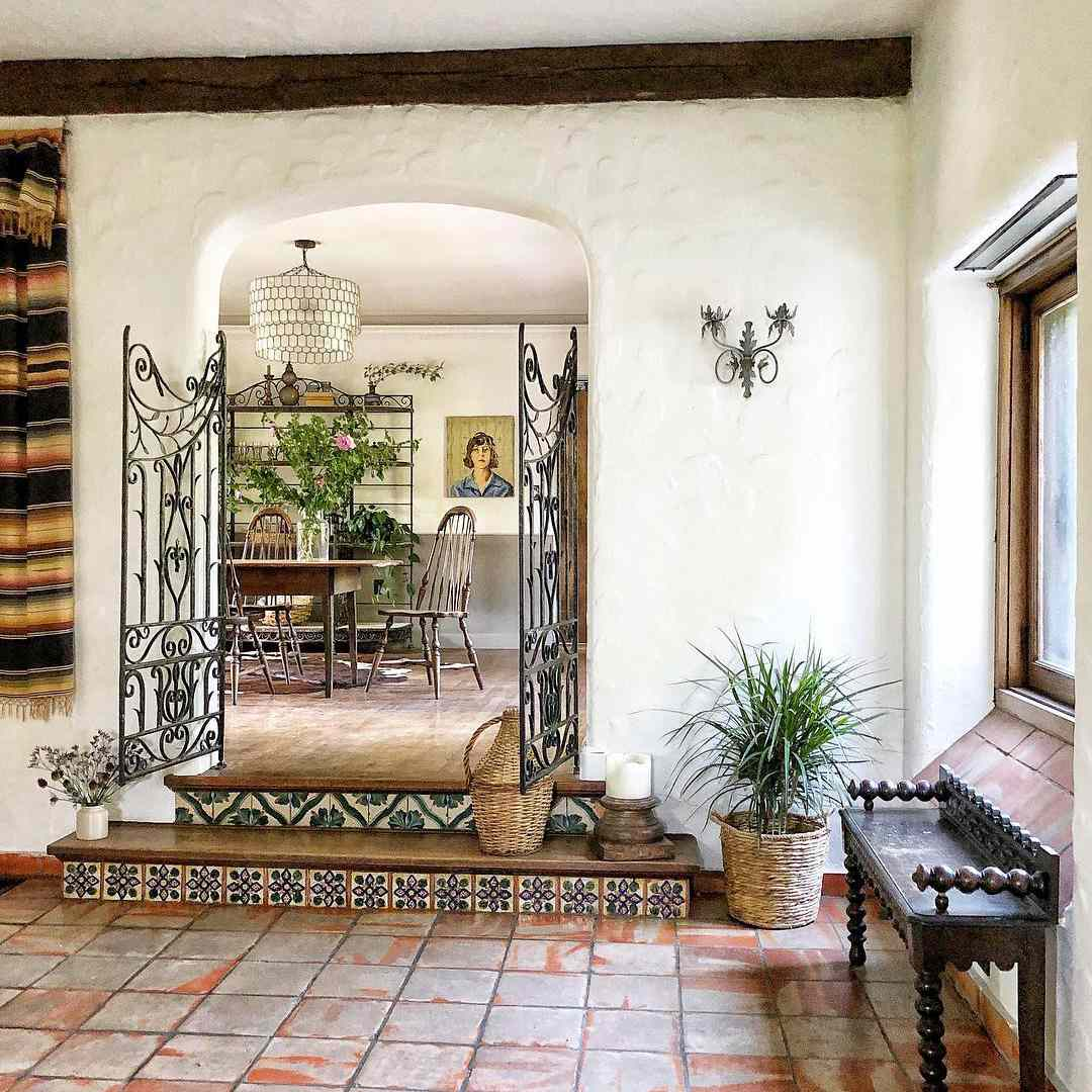 Spanish Style Living Rooms