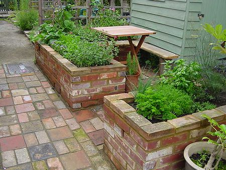 Built-In Raised Beds - 15 Raised Bed Garden Design Ideas
