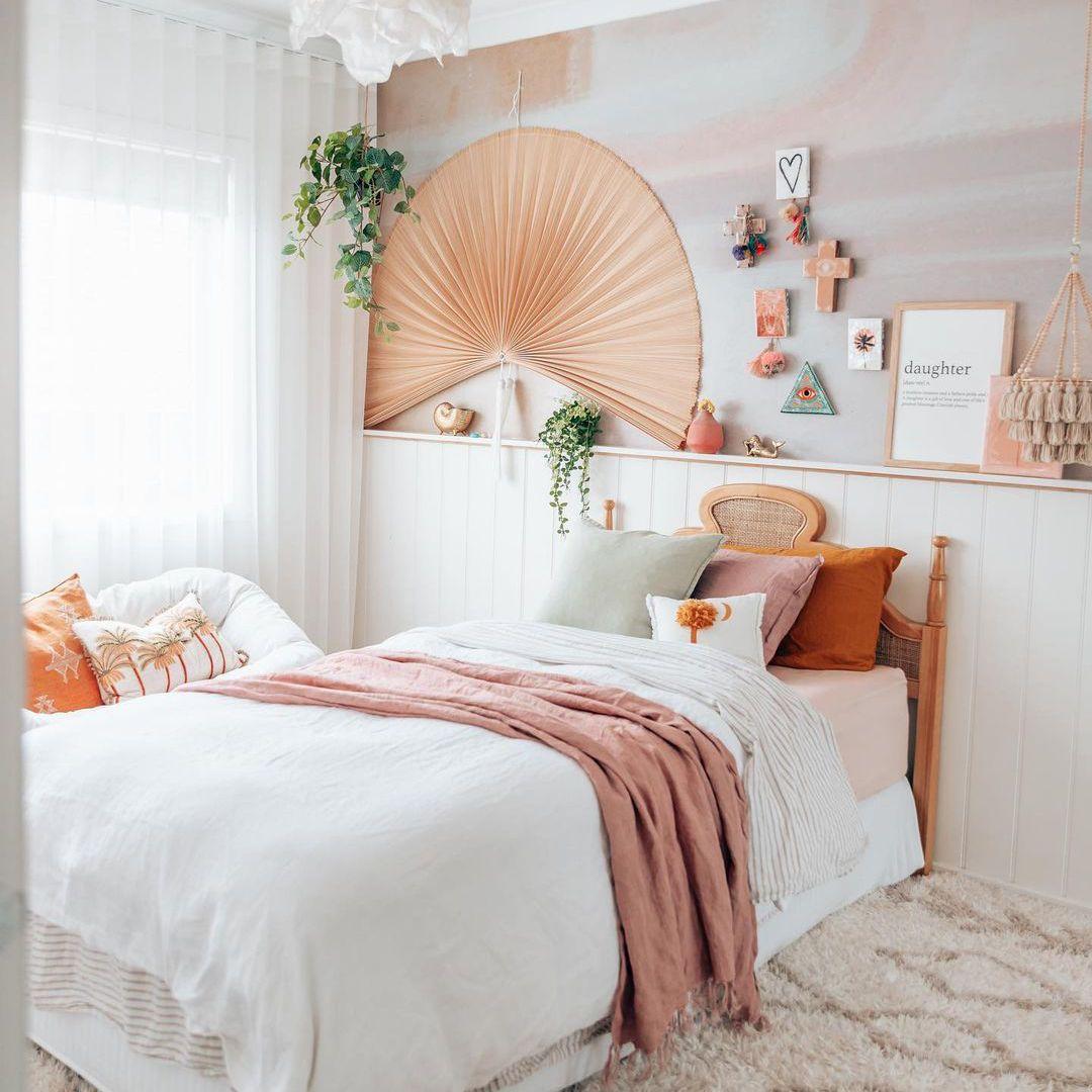 Boho girls bedroom