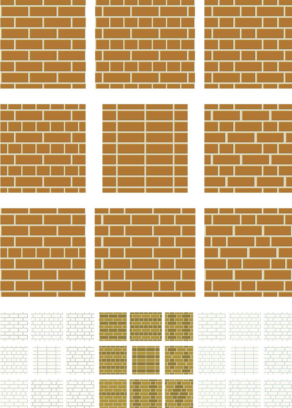 different brick bonds