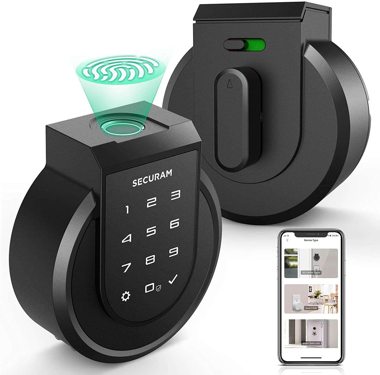 SECURAM Touch Smart Lock Deadbolt