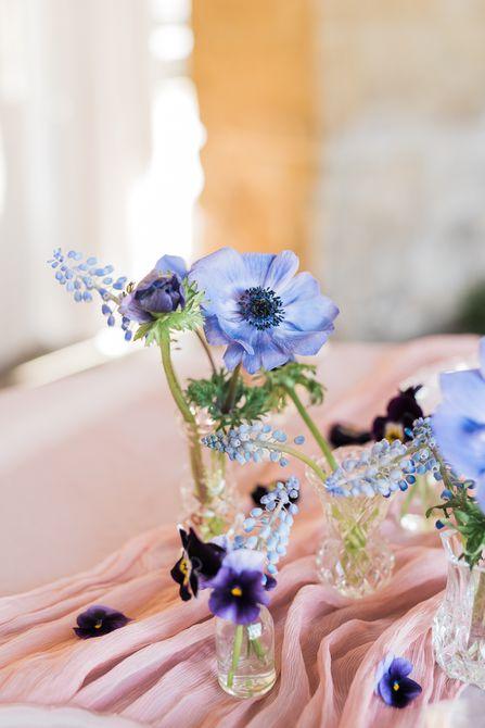 Centro de mesa para bodas Hyacinth Spring