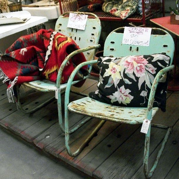 How To For Vintage Outdoor Furniture