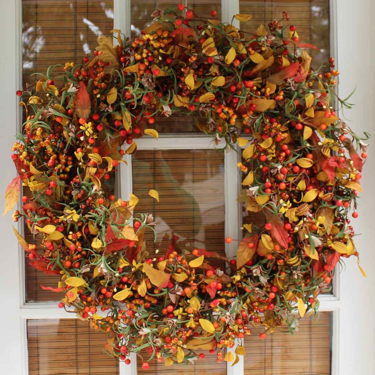 Berry Fall SIlk Wreath