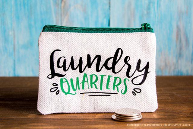 DIY Laundry Money Bag