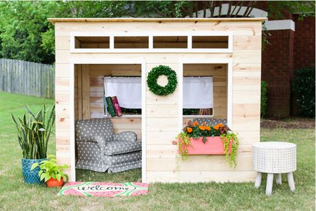 Astonishing 16 Free Backyard Playhouse Plans For Kids Interior Design Ideas Grebswwsoteloinfo