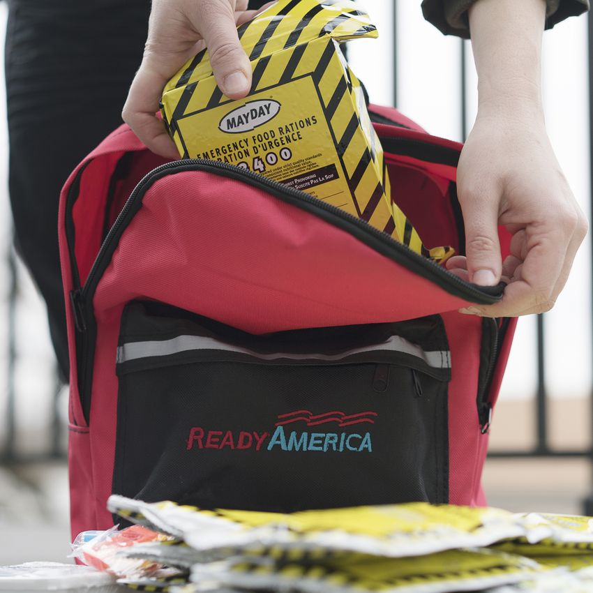 Ready America 2-Person Emergency Kit