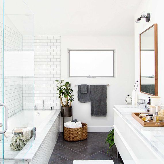 bathroom white light traditional