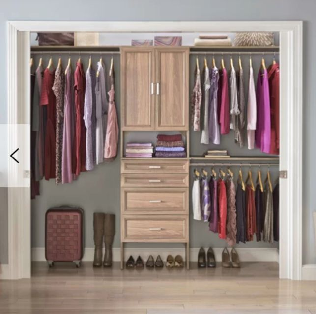 Best For Large Closets Closetmaid Suite Symphony Closet System