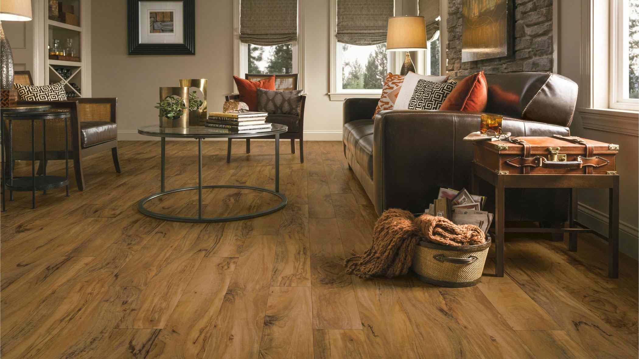 Armstrong vinyl floor