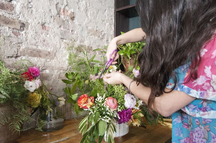 Editing your flower arranging