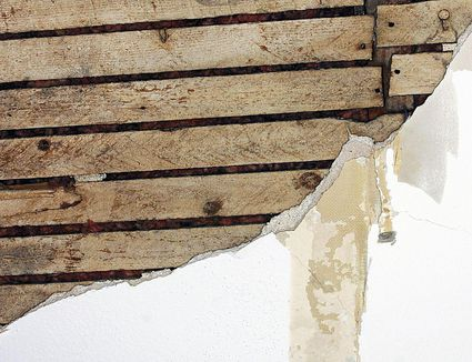 How to add insulation to walls that are closed plaster and lath it predates modern drywall this is what it is solutioingenieria Image collections