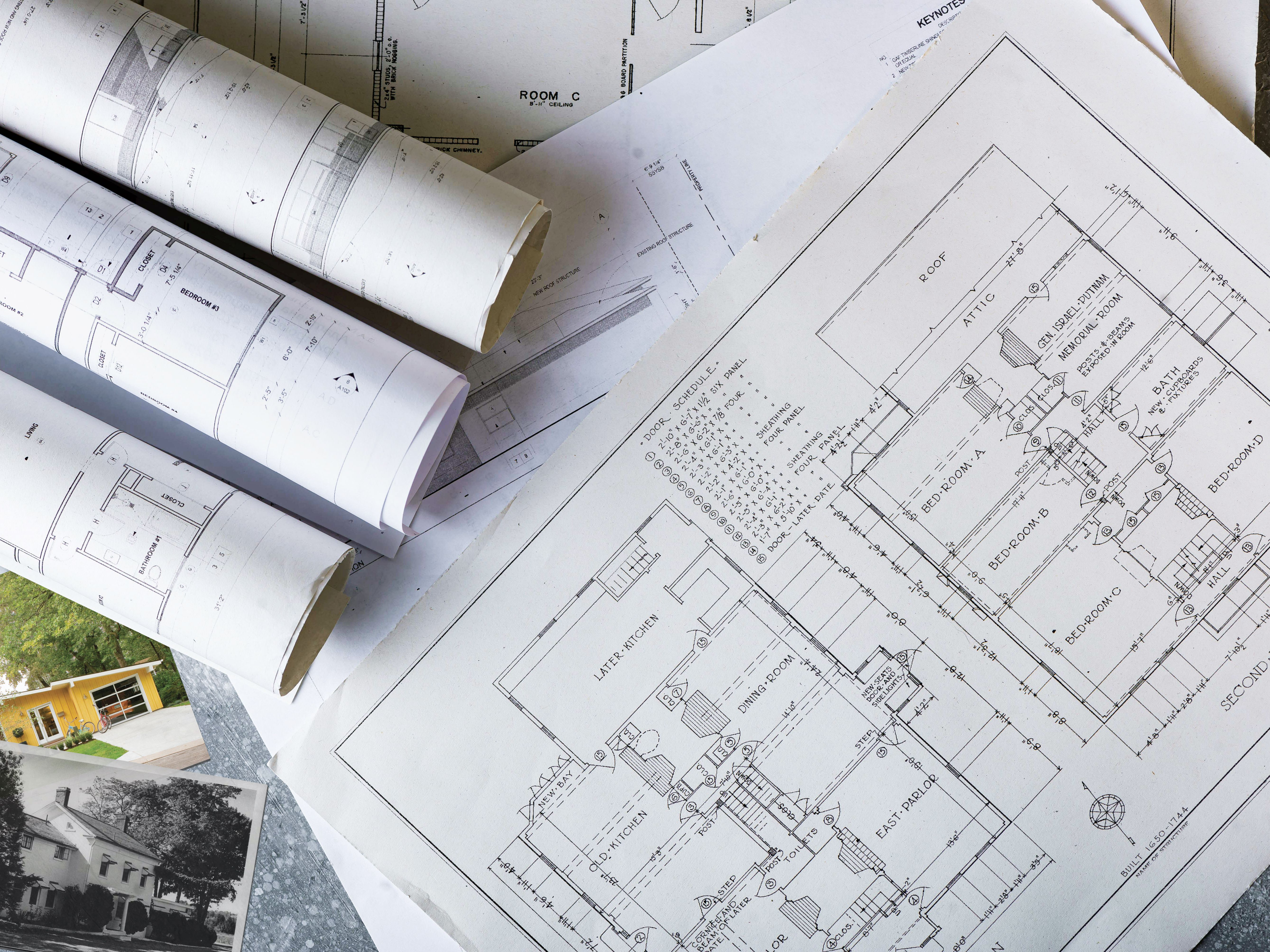 Blueprint Research Find The Plans For Your Old House