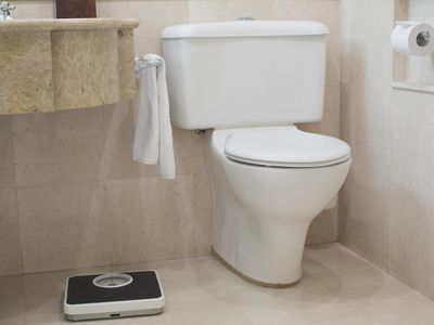 Toilet and Scales
