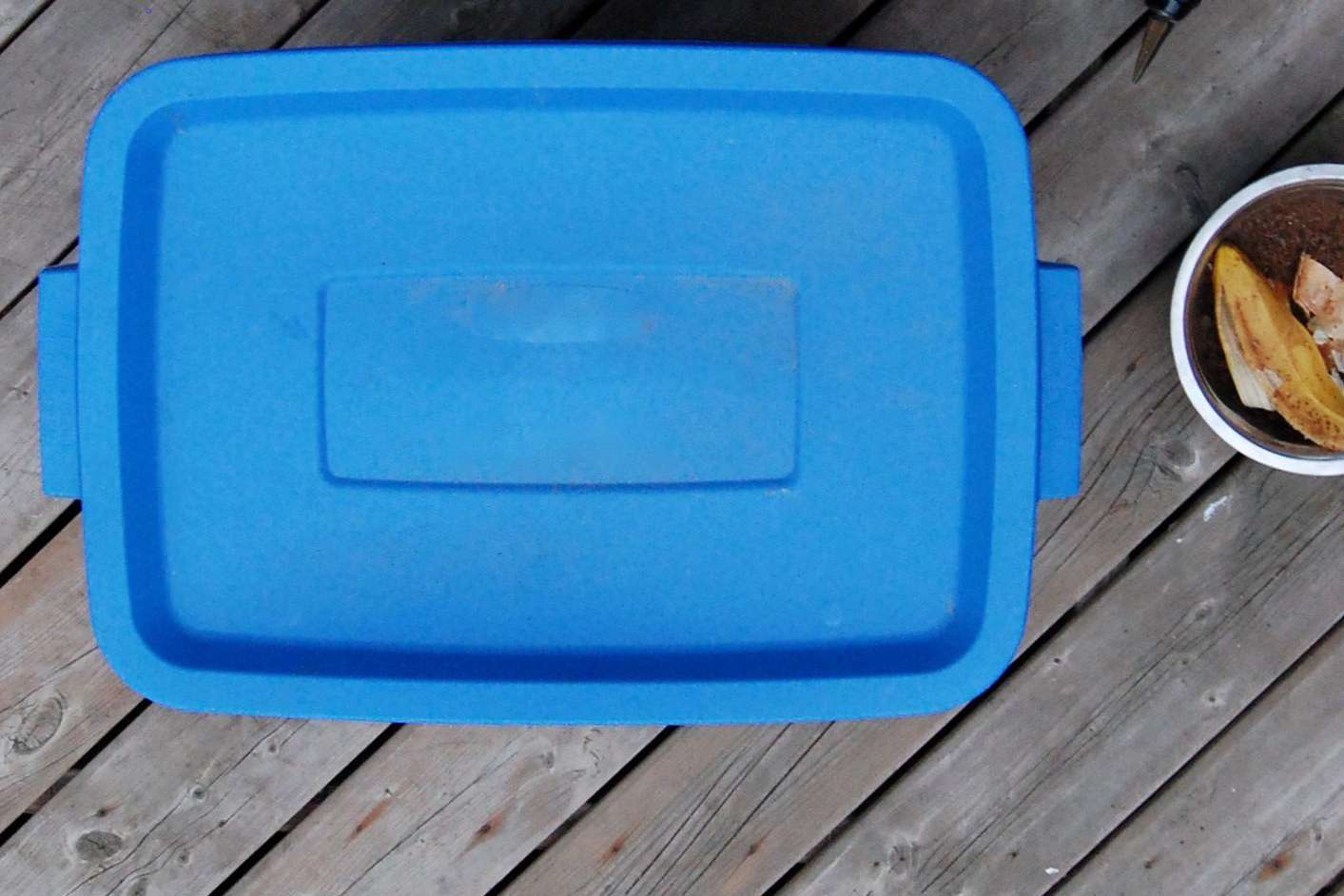 Choosing a container for your compost bin