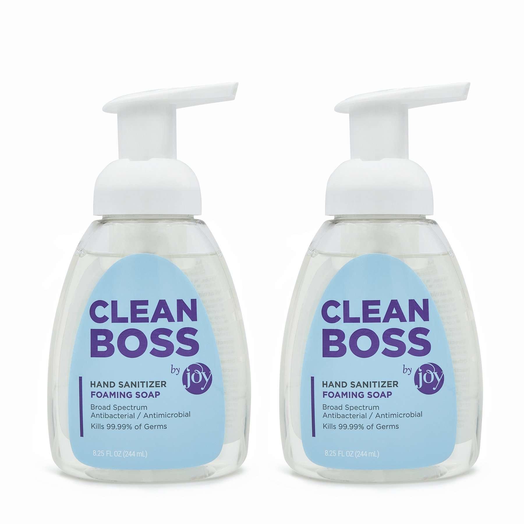 Clean Boss Hand Sanitizer Foaming Soap