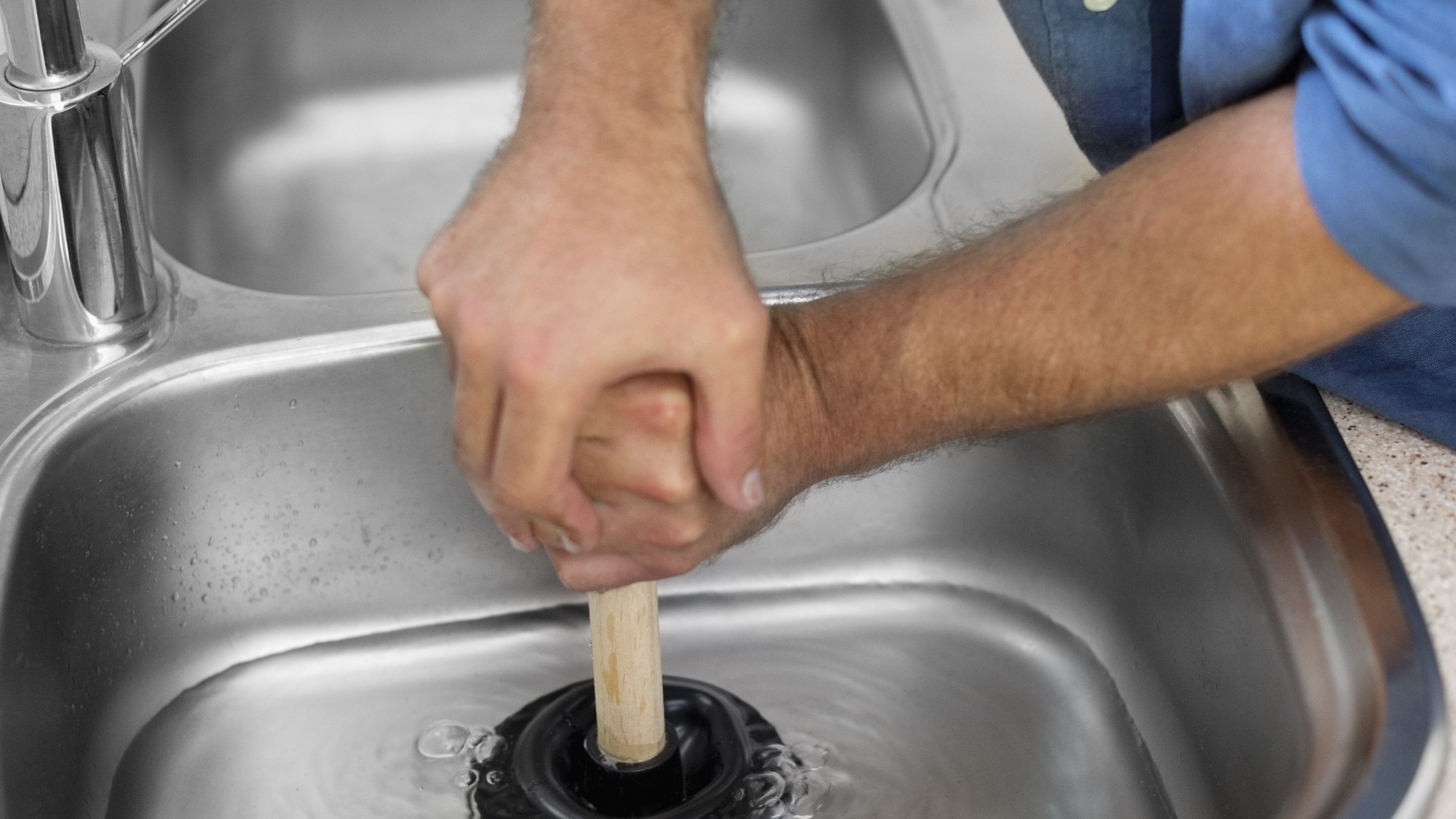 How To Unclog A Kitchen Sink Unclog Kitchen Sink With Plunger on unclog sinks both kitchen, unclog tub drain with bleach, unclog pipes, unclog my bathroom sink, unclog sink drain, toilet plunger,