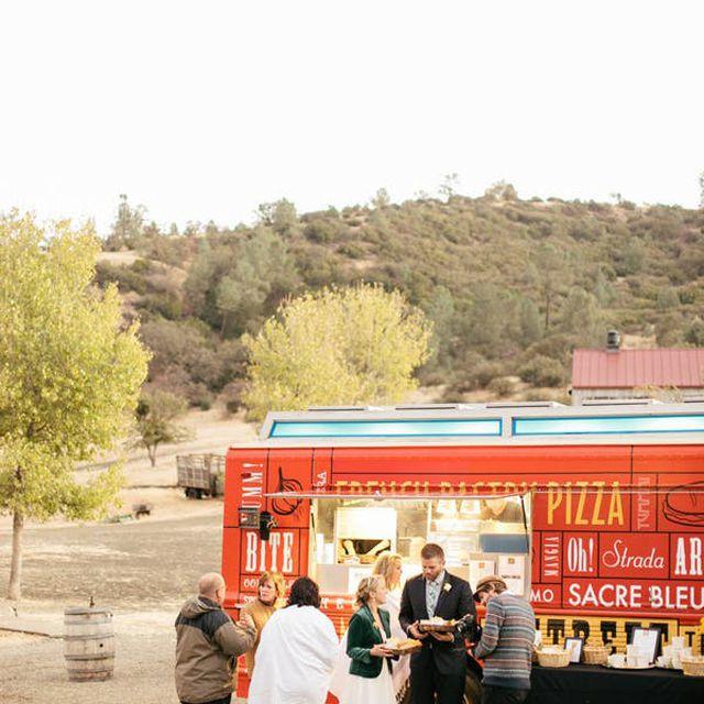 Wedding Favor Food Truck