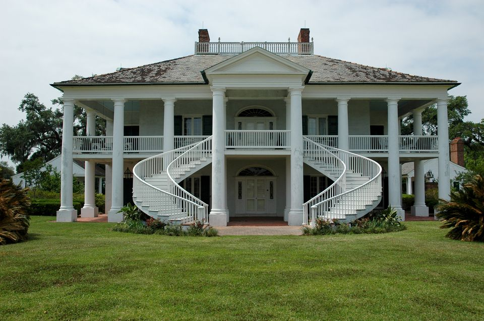 A southern-style home.