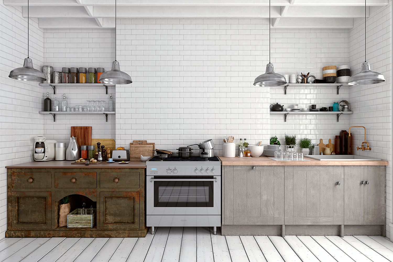 The Best Kitchen Backsplash Materials