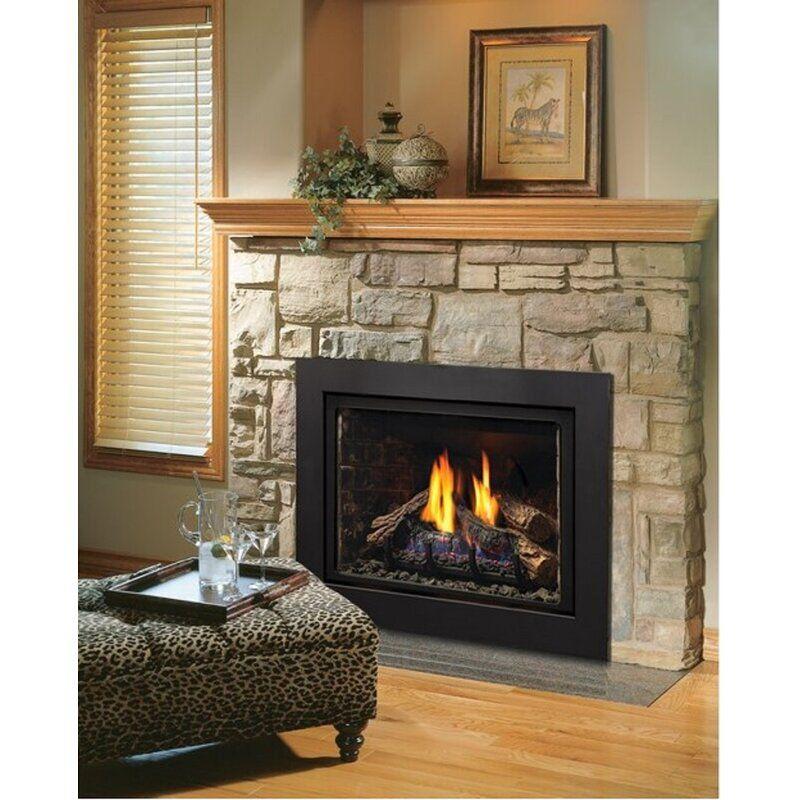 Kingsman Fireplaces IDV33 Direct Vent Fireplace Insert