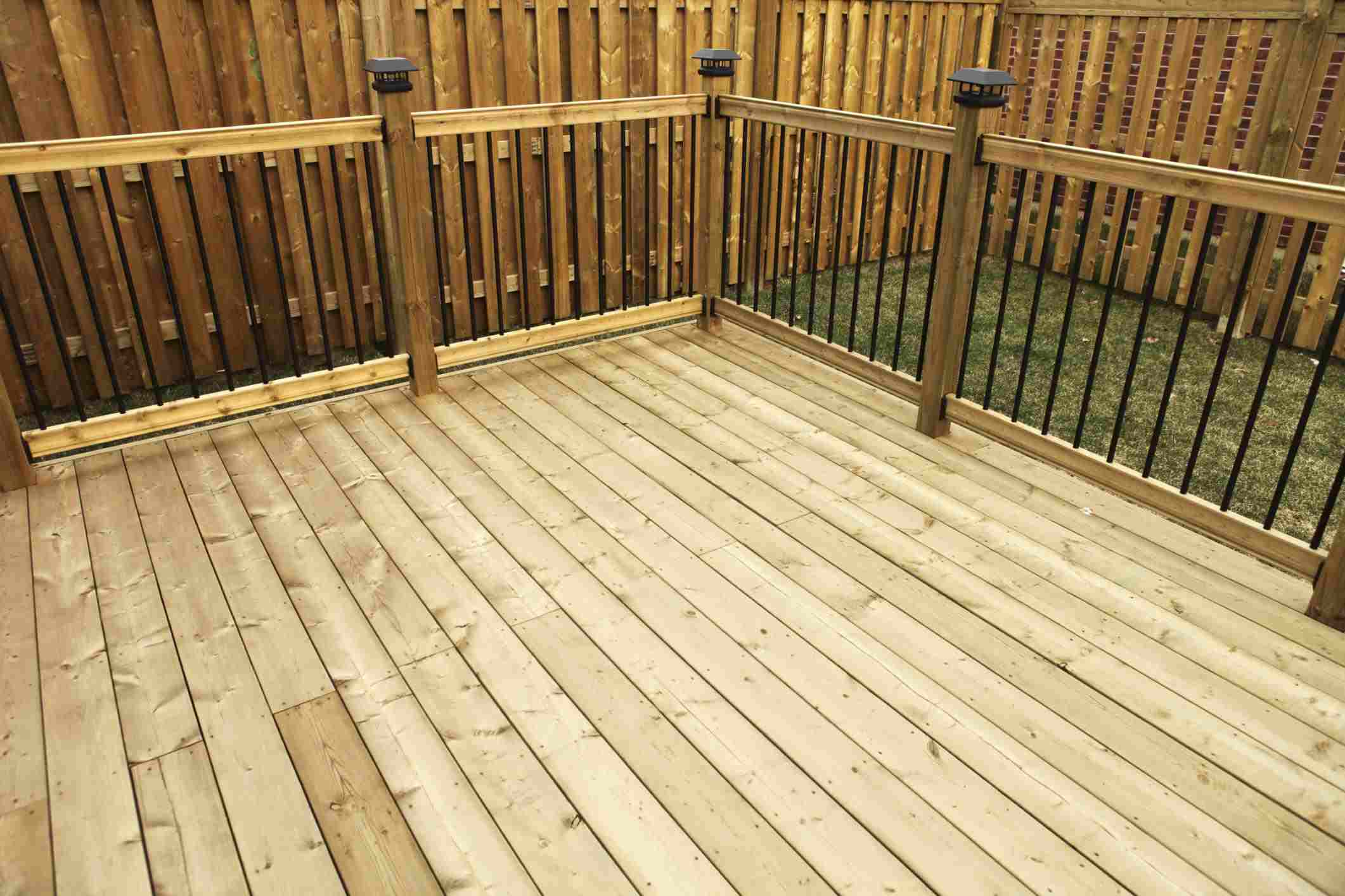 A Sy Wooden Deck