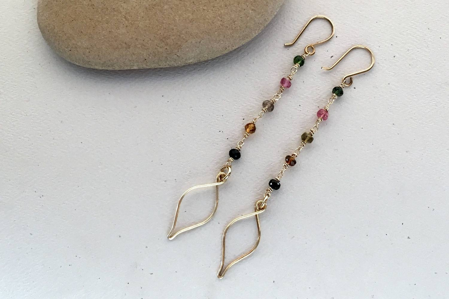Easy Beaded Earrings and Wire Wrap Earrings to Make Now