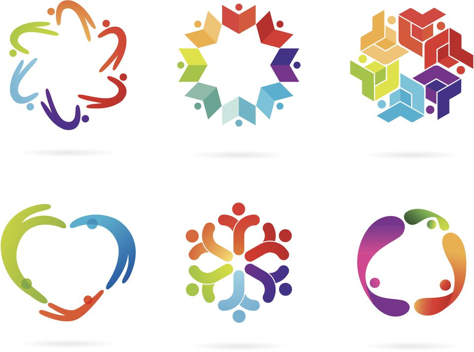 feng shui business logo design: colors and shapes