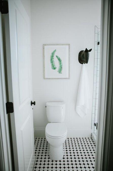 Kids' Bathroom With Animal Hook