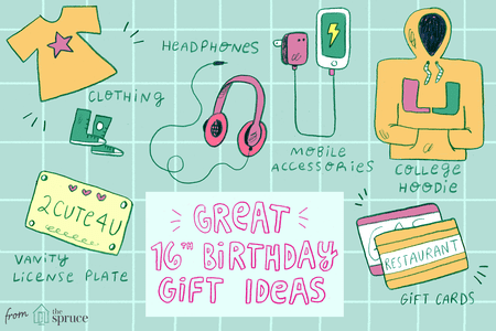 16th Birthday Gift Ideas